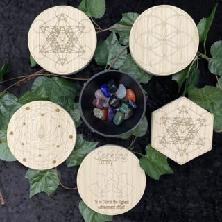 Some of our 150mm Crystal Grids